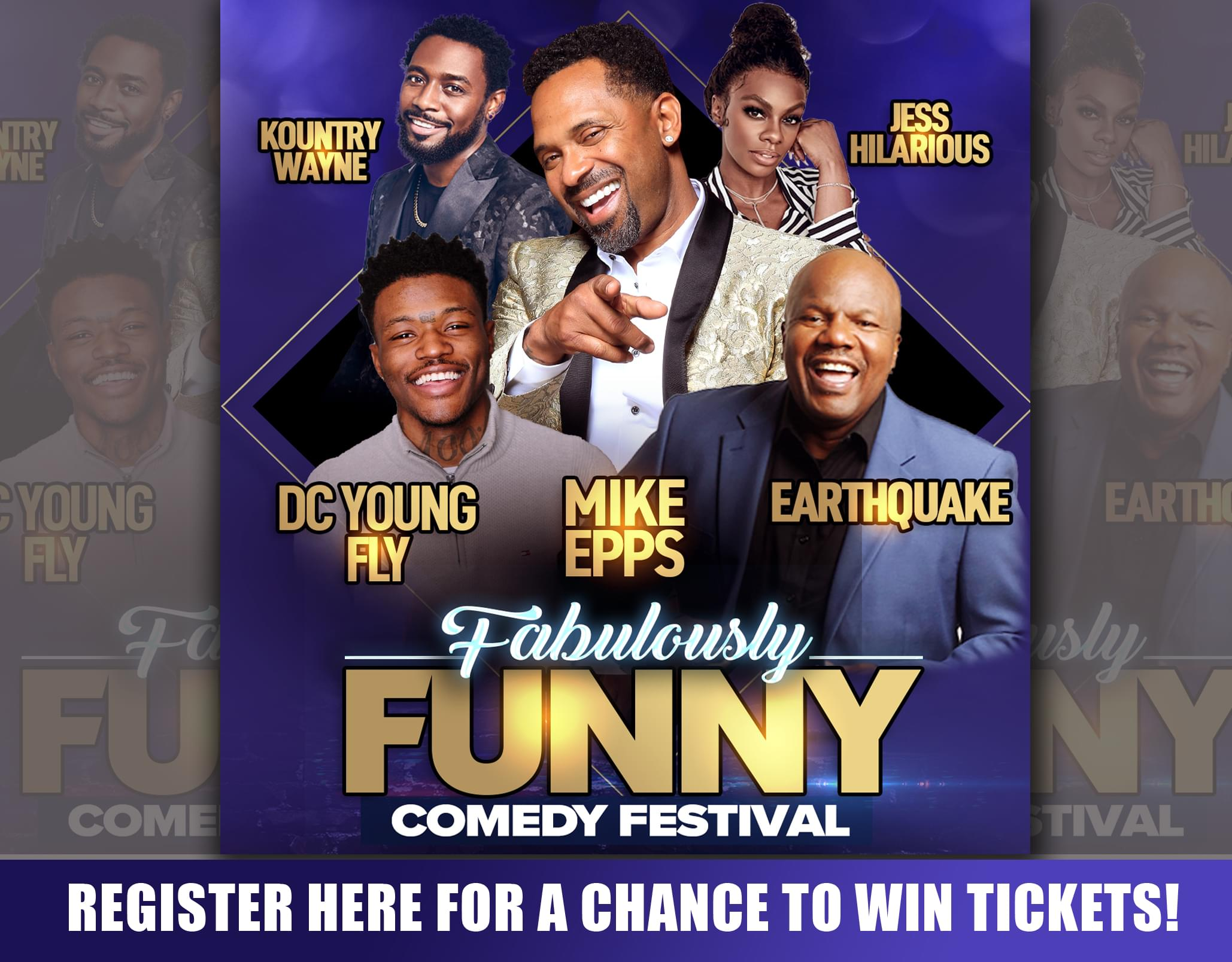 Win Fabulously Funny Tour Tickets