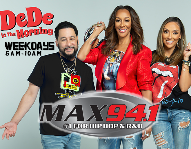 Max 94.1 Welcomes DeDe in the Morning