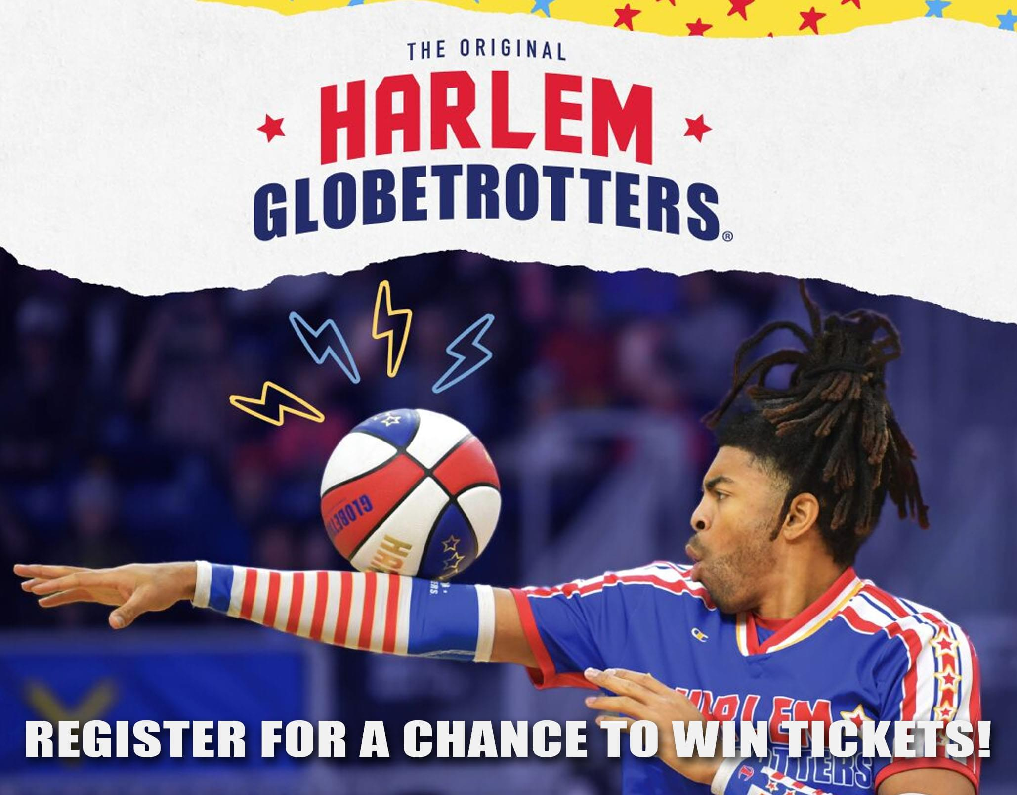 Enter to Win Harlem Globetrotters Tickets