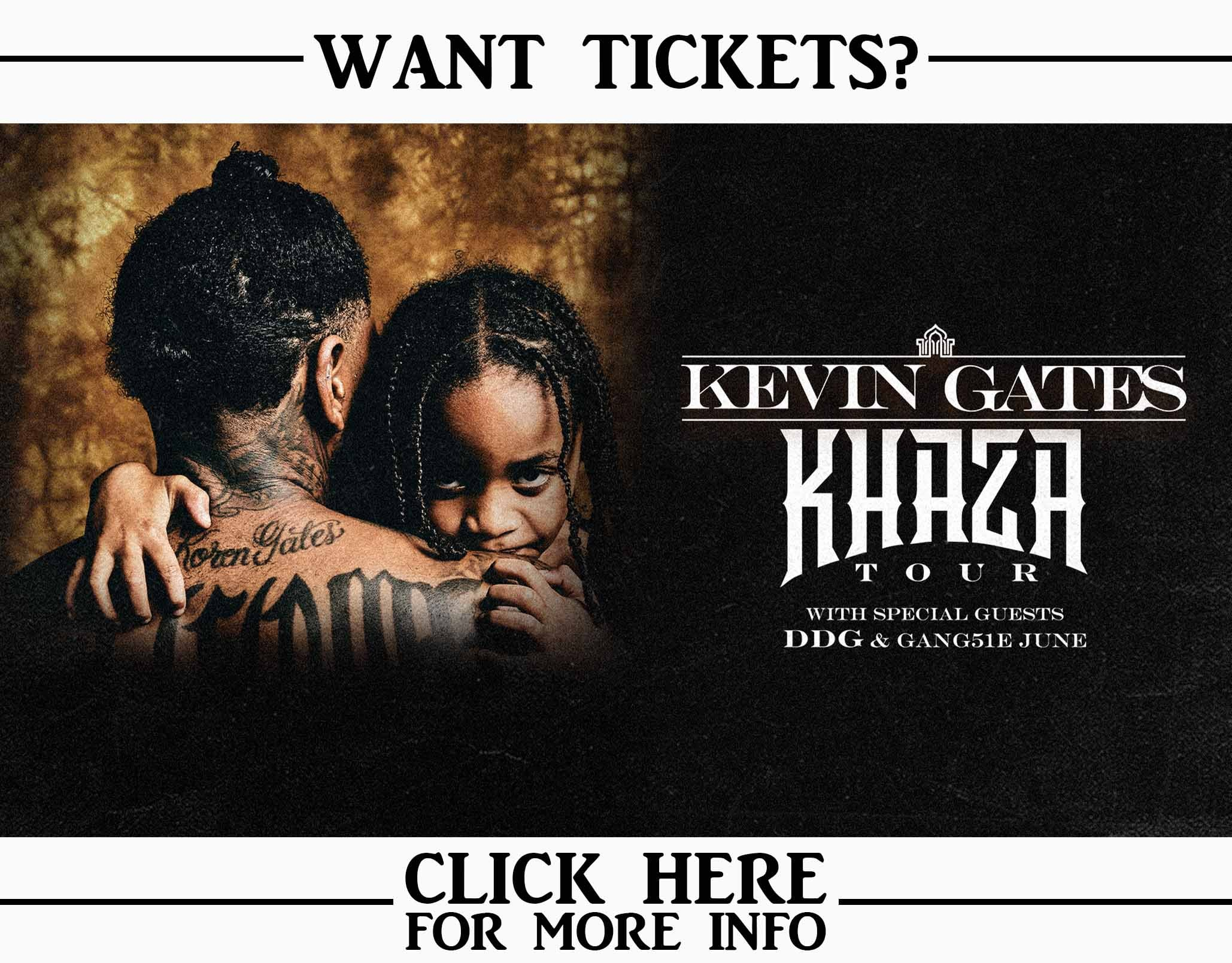 Win Kevin Gates Khaza Tour Tickets!