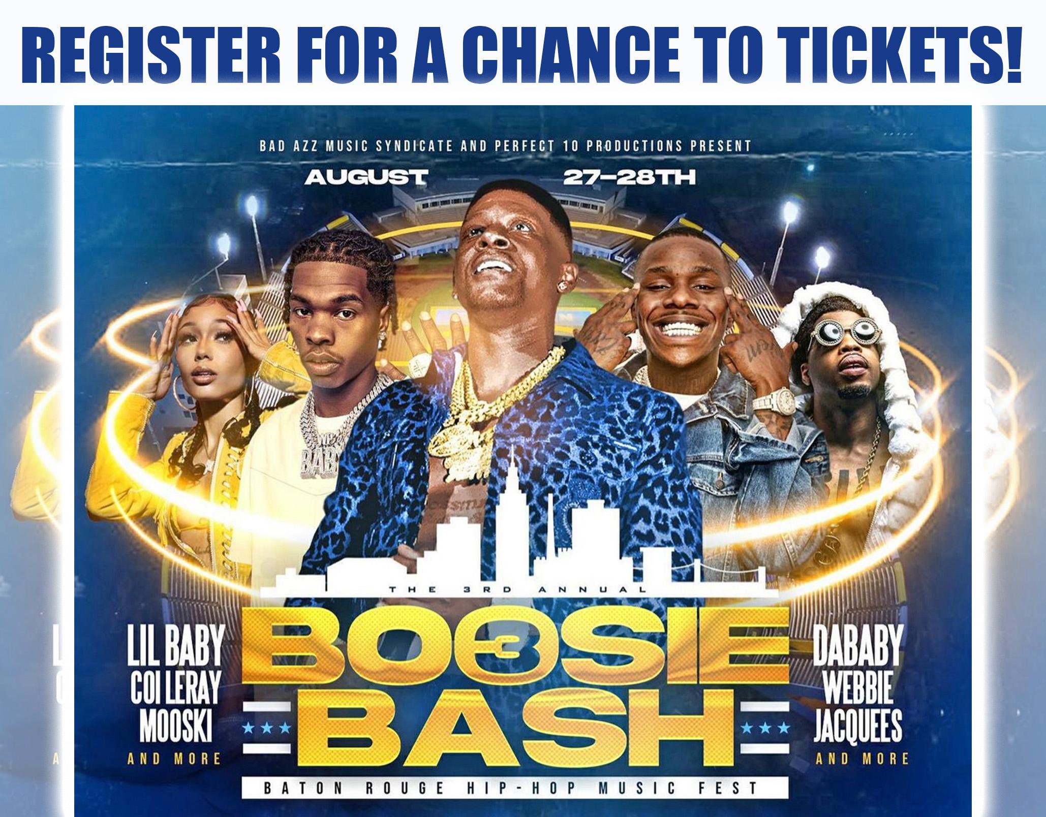 Boosie Bash 3: Baton Rouge Hip Hop Music Festival!