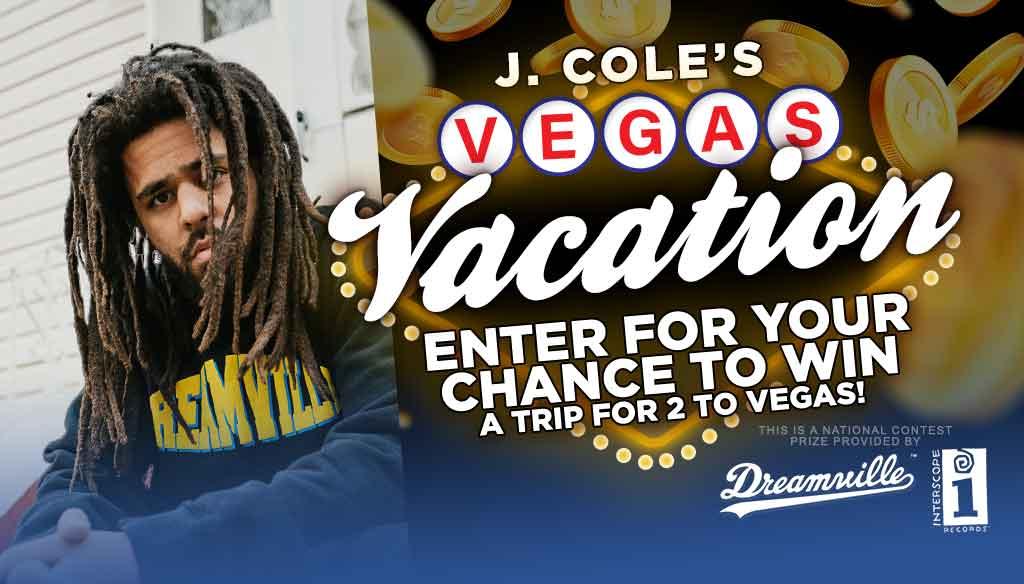J Cole Vegas Vacation