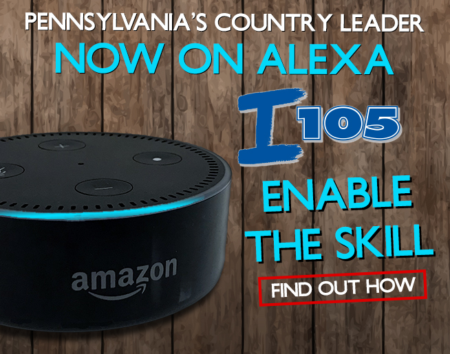 Play the Big I 105 on your Alexa-enabled device!