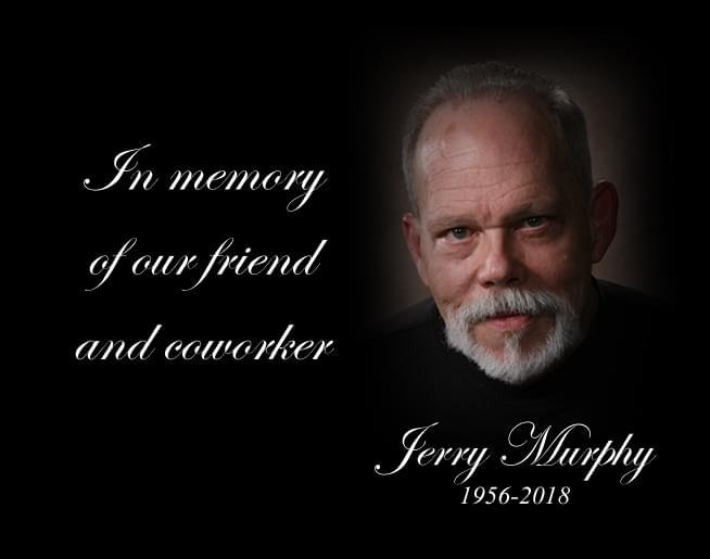 Jerry Murphy: 1956-2018