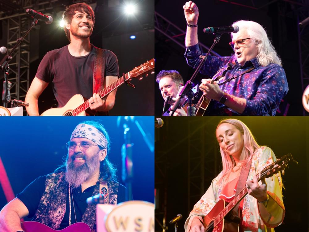 Bonnaroo Kicks Off With Performances by Ricky Skaggs, Morgan Evans, Ashley Monroe, Steve Earle & More