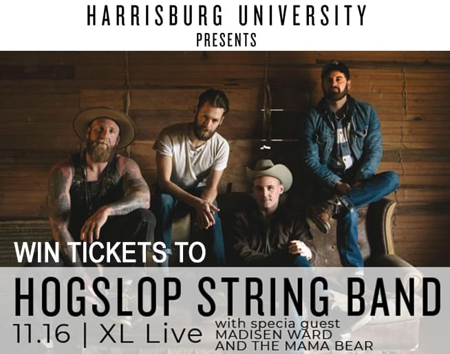 Win Tickets to the Hogslop String Band presented by Harrisburg University