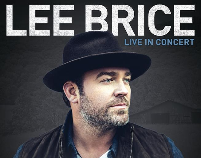 Win tickets to Lee Brice at Hershey Theatre on February 13th