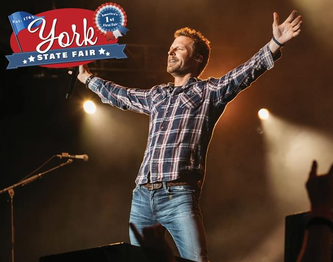 Dierks Bentley at the York State Fair on July 24th