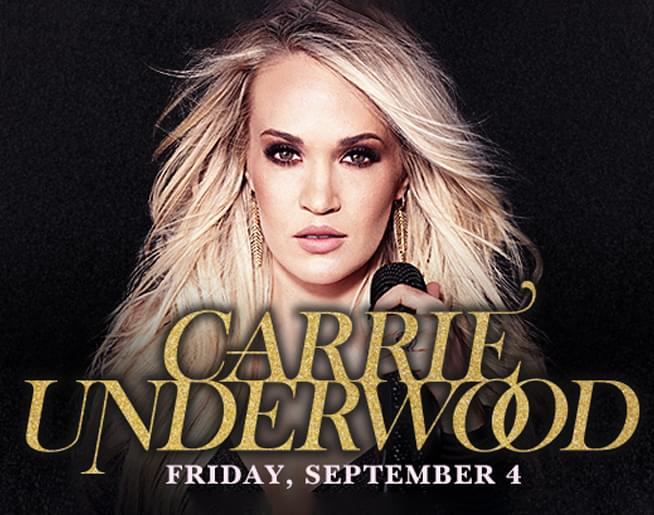 Carrie Underwood at The Great Allentown Fair on September 4th