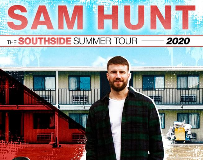 CANCELLED – Sam Hunt at Hersheypark Stadium on August 29th