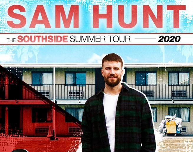 Sam Hunt at Hersheypark Stadium on August 29th