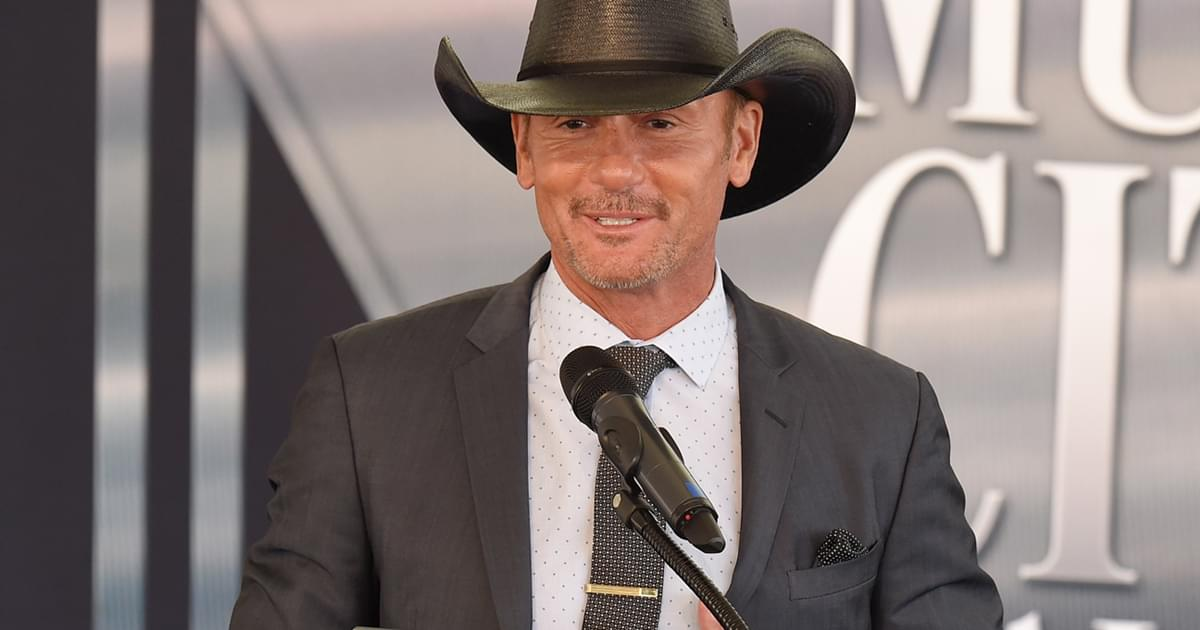 "Tim McGraw Reveals His ""Good Taste in Women"" [Listen]"