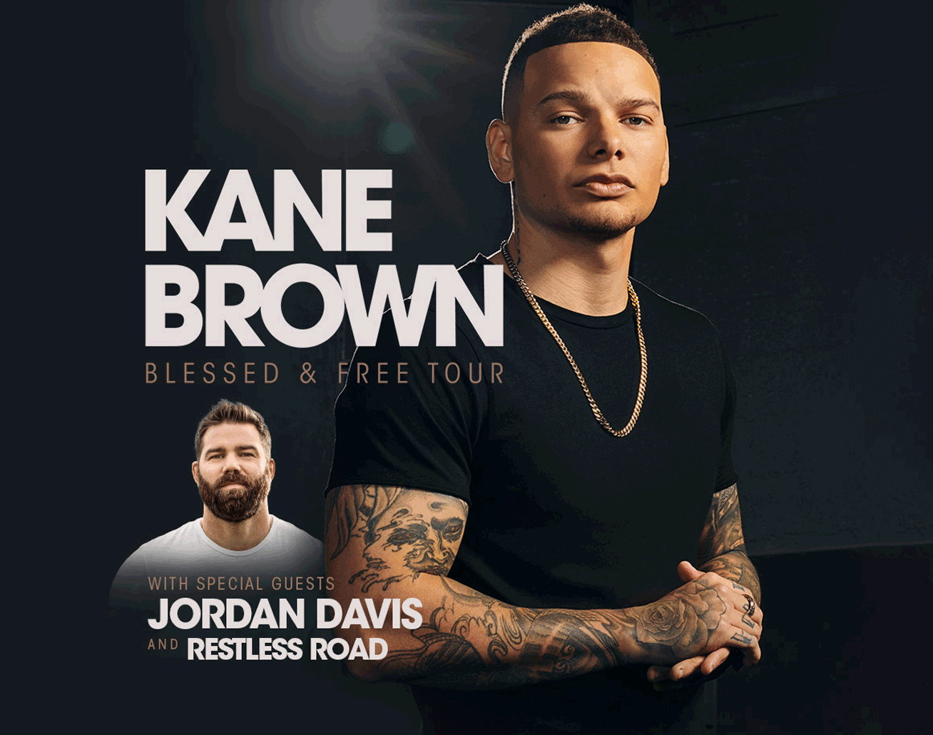 Kane Brown at Bryce Jordan Center on November 6, 2021