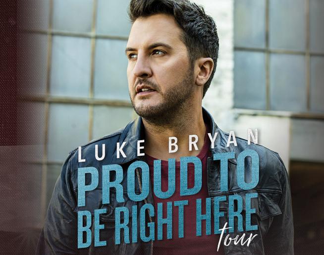 Luke Bryan at Hersheypark Stadium on July 9, 2021