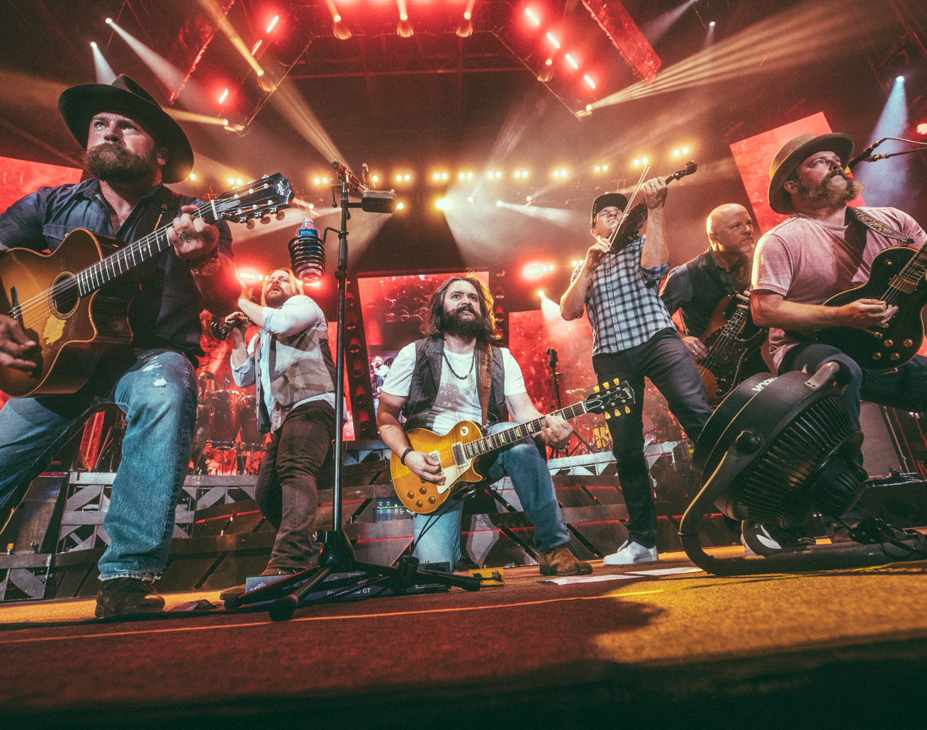 Zac Brown Band at Hersheypark Stadium on August 21, 2021
