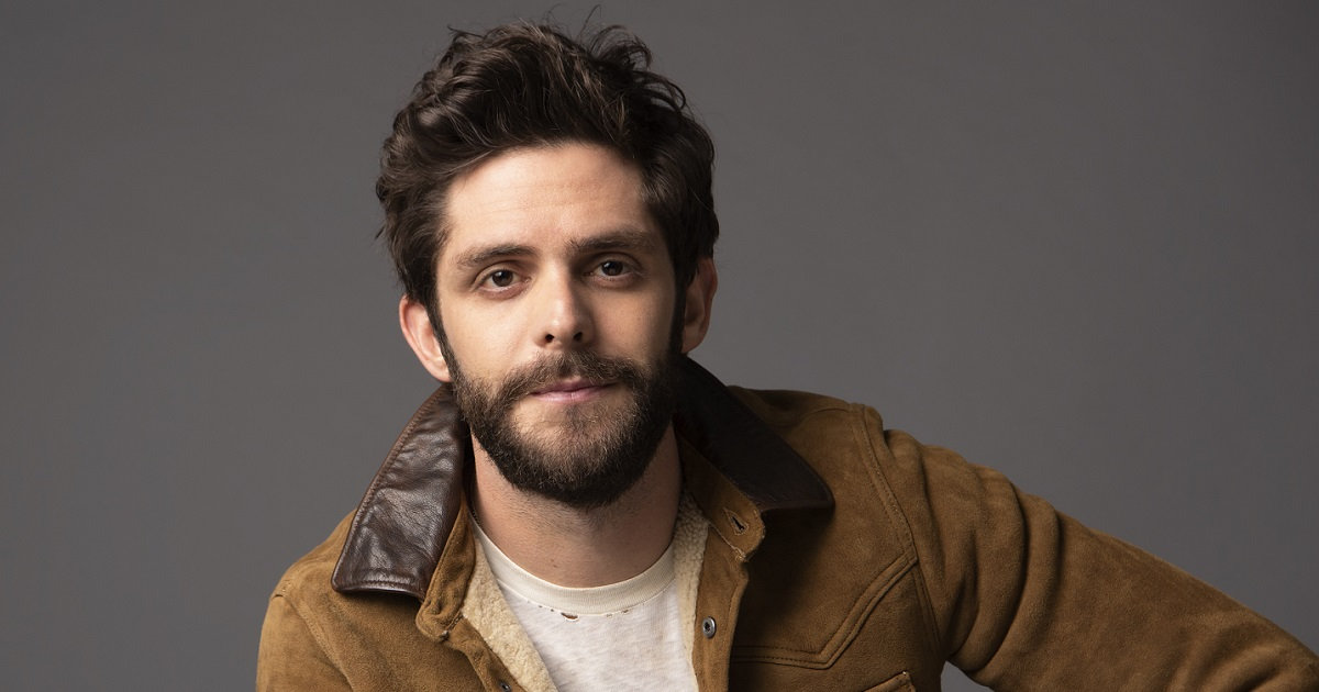 Thomas Rhett Recently Sang On The Tonight Show & Chatted With Ellen