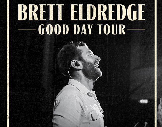 Brett Eldredge at Santander Arena on November 5th