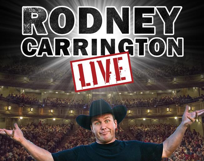 Rodney Carrington at Santander Performing Arts Center – Postponed until June 3rd