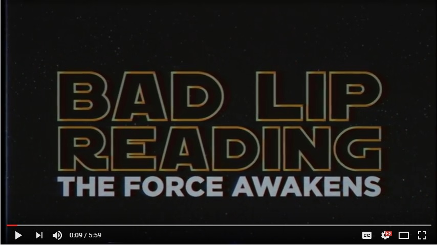 "Star Wars ""The Force Awakens"" Bad Lip Read"