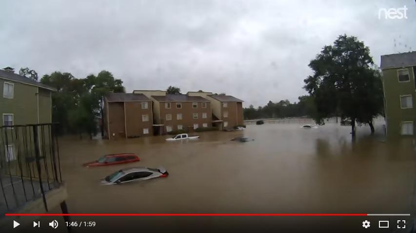 Hurricane Harvey Flooding Timelapse