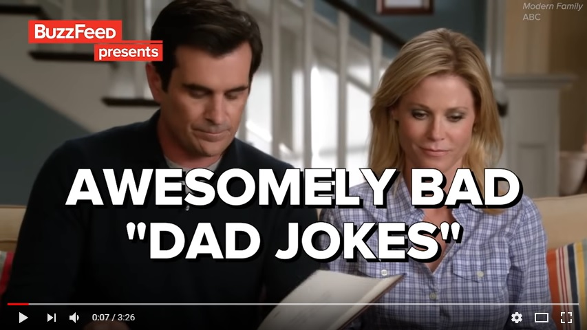 "19 Awesomely Bad ""Dad Jokes"""