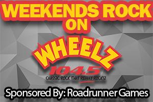 Weekends Rock on WHEELZ 1045