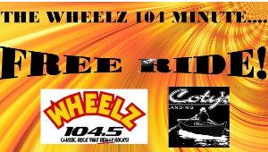 WHEELZ 104 Minute Free Ride