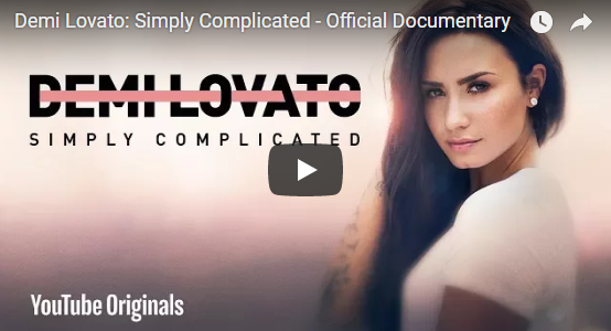Demi Lovato: Simply Complicated – Official Documentary [VIDEO]
