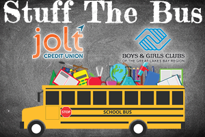 Stuff the Bus w/ Cumulus Media and Jolt Credit Union