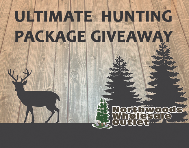 Win the Ultimate Hunting Prize Pack from Northwoods Wholesale Outlet