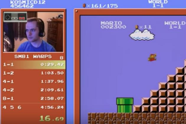 Watch This Guy Beat Super Mario Bros. in Less Than Five Minutes [VIDEO]
