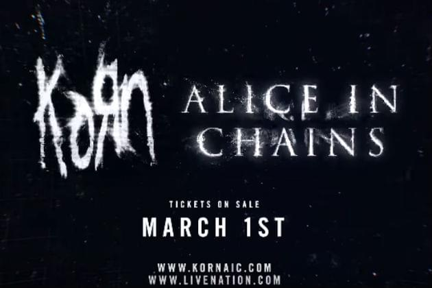 Korn and Alice In Chains Bringing Co-Headlining Tour to DTE Energy Music Theatre
