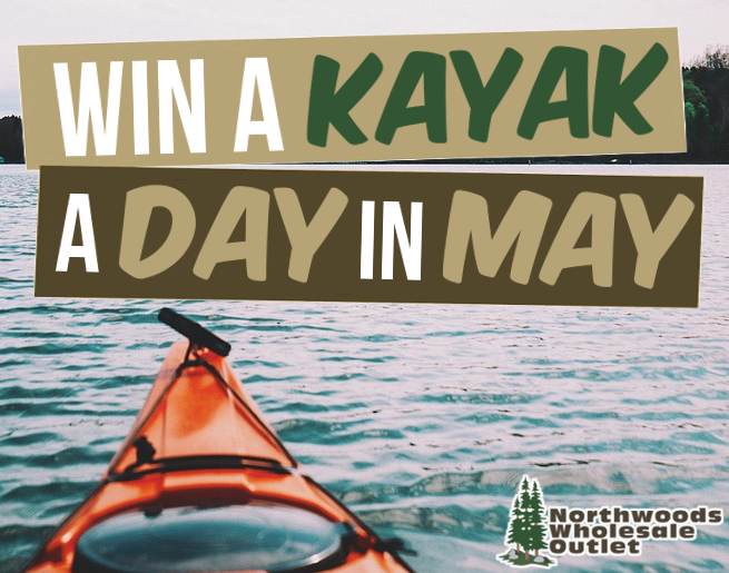 A Kayak A Day In May 2021