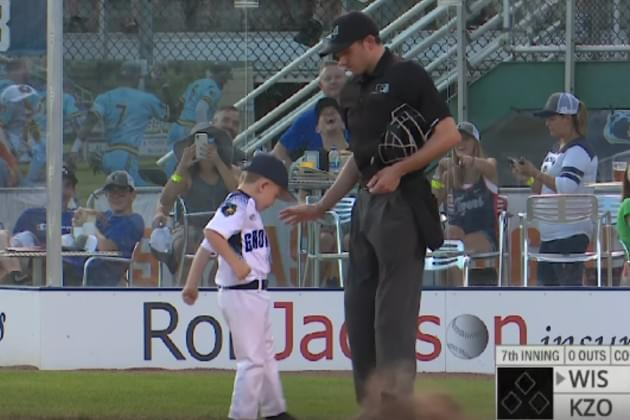 Watch the Kalamazoo Growlers' 6-Year Old Coach Absolutely Lose It After Being Ejected [VIDEO]