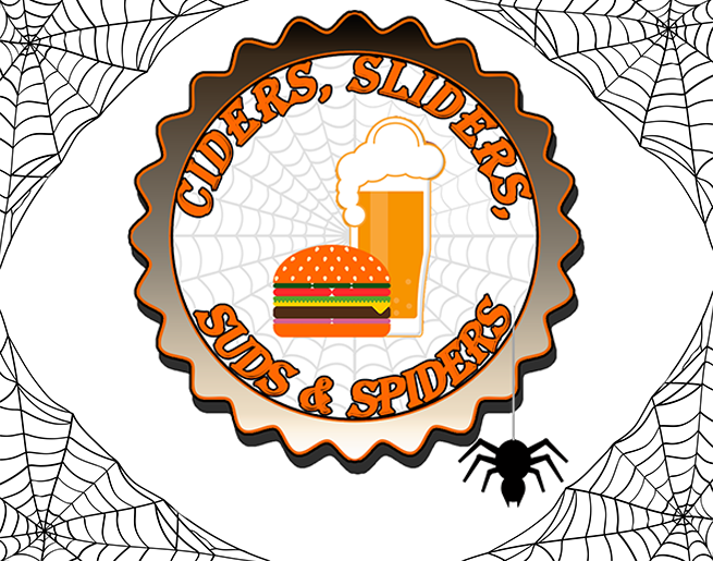 Ciders, Sliders, Suds and Spiders Crawl