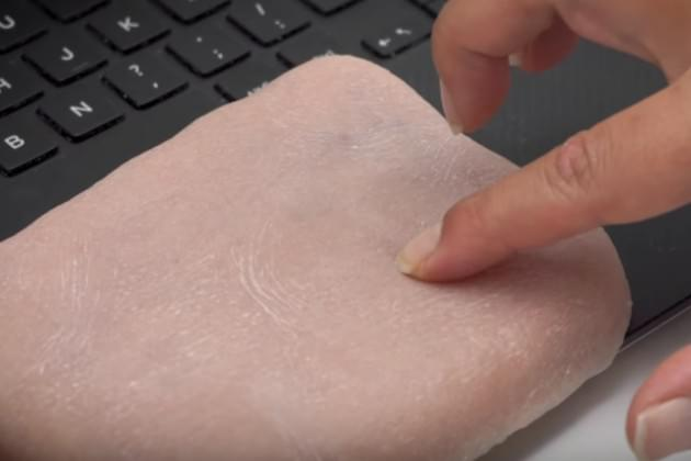 Would You Cover Your Phone In Synthetic Skin? [VIDEO]