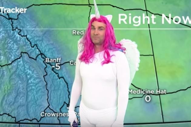These Anchors Just Can't Handle Weather Guy's Unicorn Halloween Costume [VIDEO]