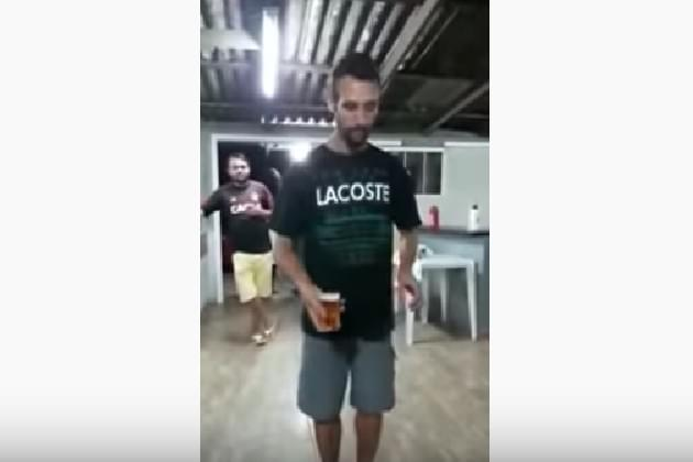 Watch This Guy Do A Backflip Without Spilling His Beer [VIDEO]