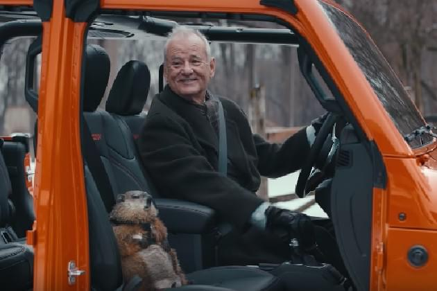 Billy Murray Revisits 'Groundhog Day' For Jeep Commercial [VIDEO]