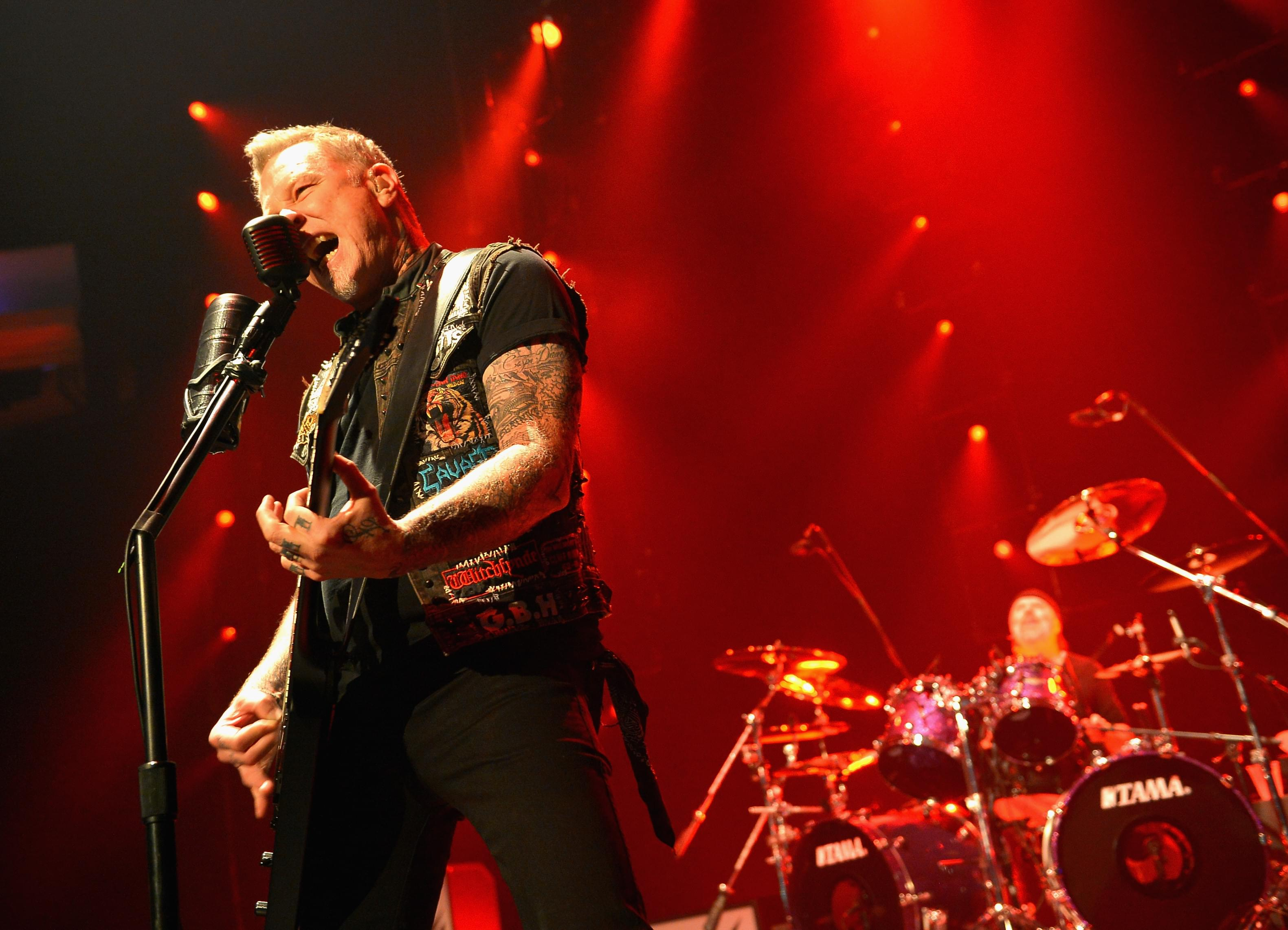 Watch Metallica Perform 'Enter Sandman' on The Late Show with Stephen Colbert [VIDEO]