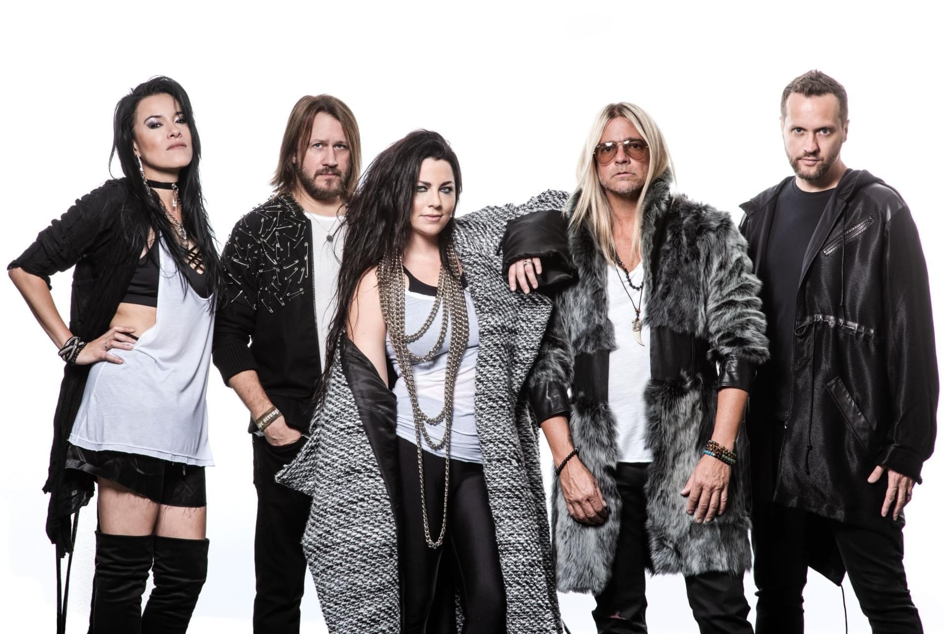Evanescence and Halestorm Announce Tour Stop in Detroit