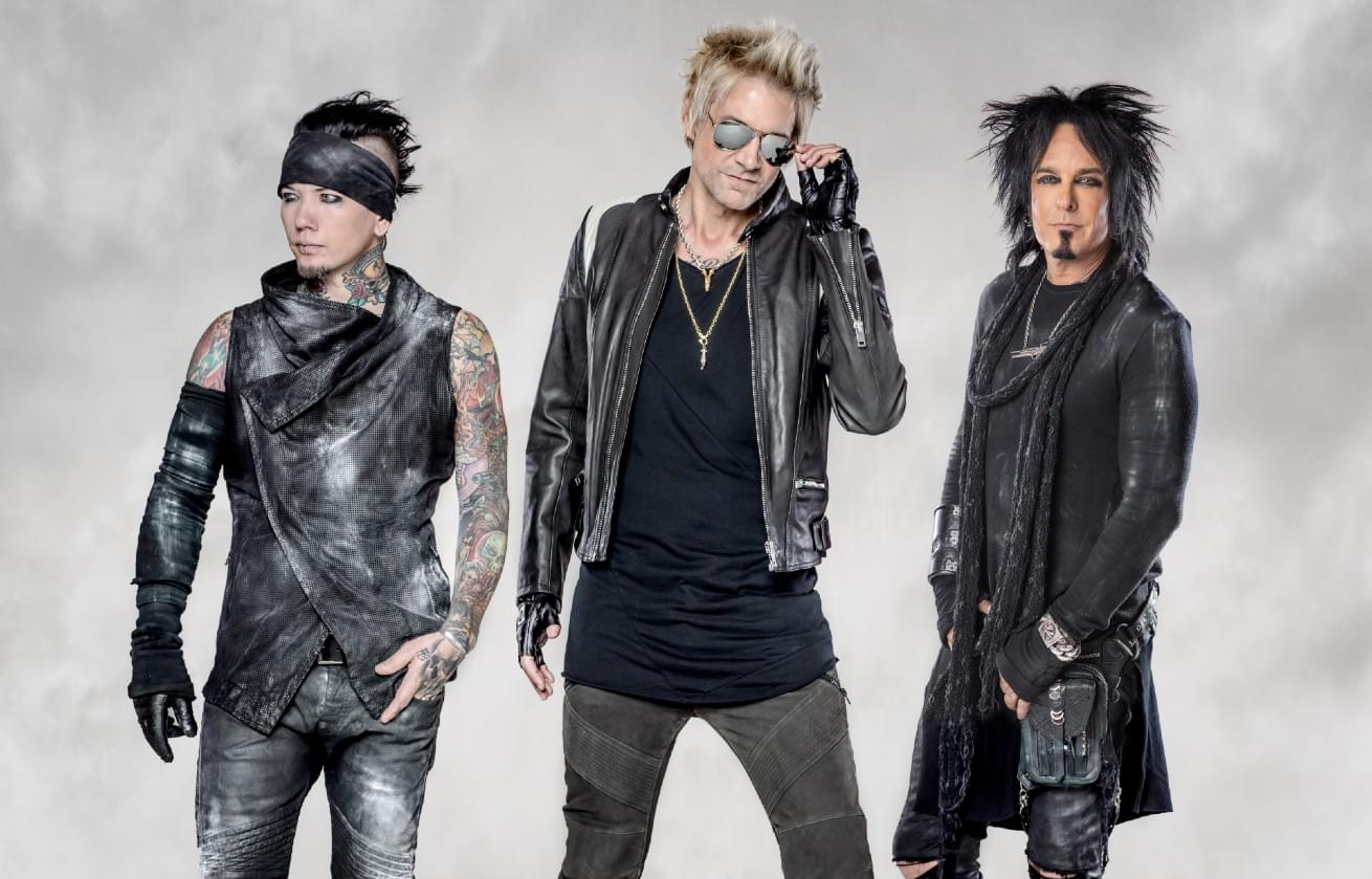 Sixx:A.M. Teams Up with Corey Taylor, Ivan Moody, Slash and More for 'Maybe It's Time' [AUDIO]