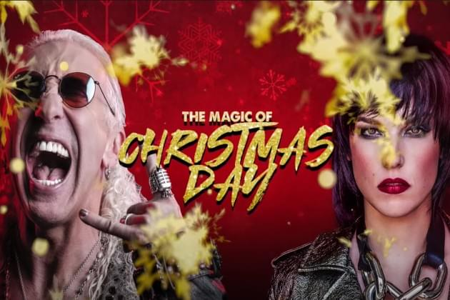 Lzzy Hale and Dee Snider Team Up for 'The Magic of Christmas Day' [VIDEO]