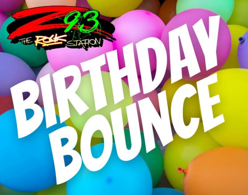Z93's Birthday Bounce
