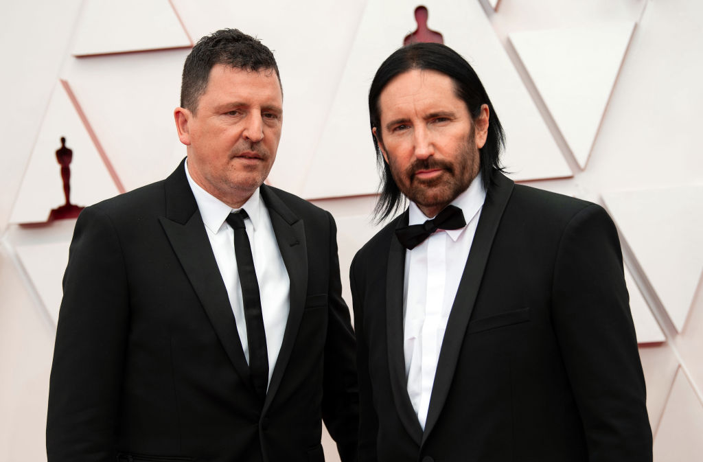 Trent Reznor and Atticus Ross of Nine Inch Nails Win Oscar and Announce Return to The Band