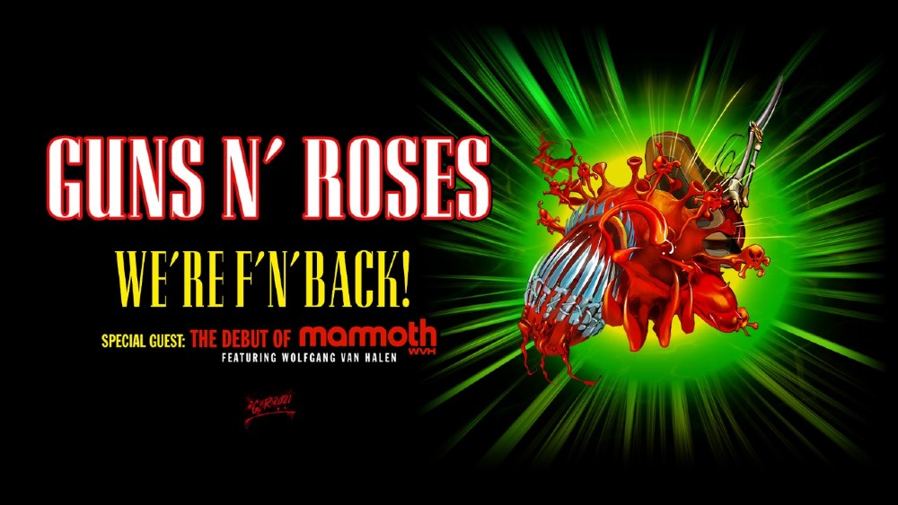 Guns N' Roses Announces Rescheduled Dates for North American Tour