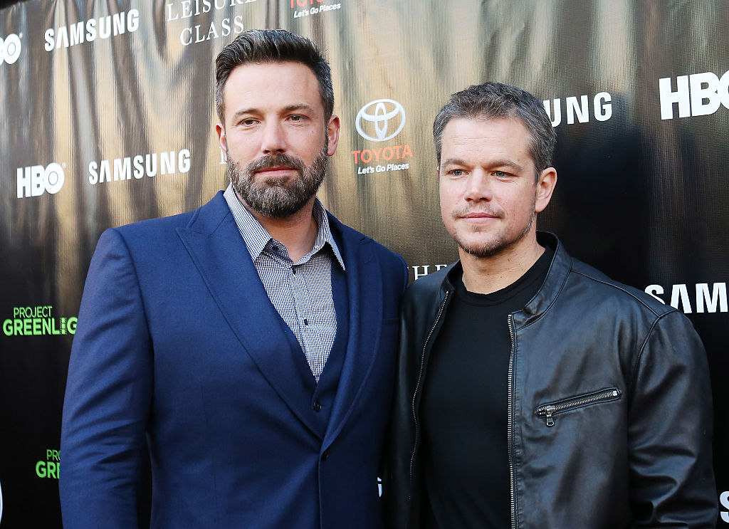 Ben Affleck and Matt Damon Have a New Movie Coming Out and People Can't Stop Talking About Their Hair [VIDEO]