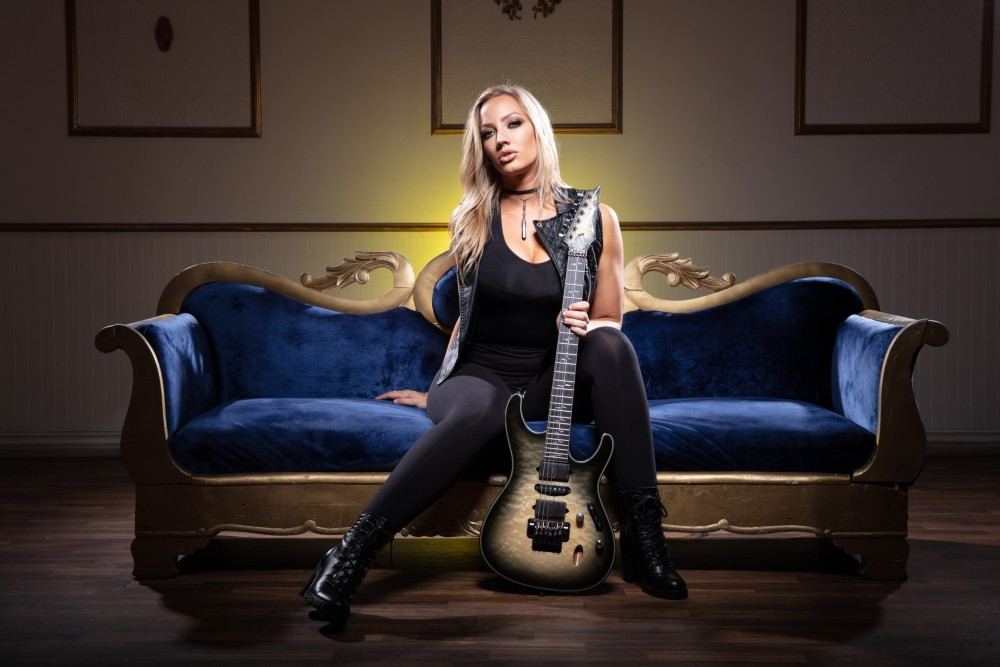 Nita Strauss Enlists the Help of Disturbed's David Draiman For New Song [VIDEO]