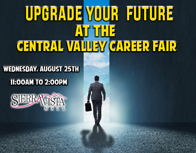 August 25:  2021 Central Valley Career Fair