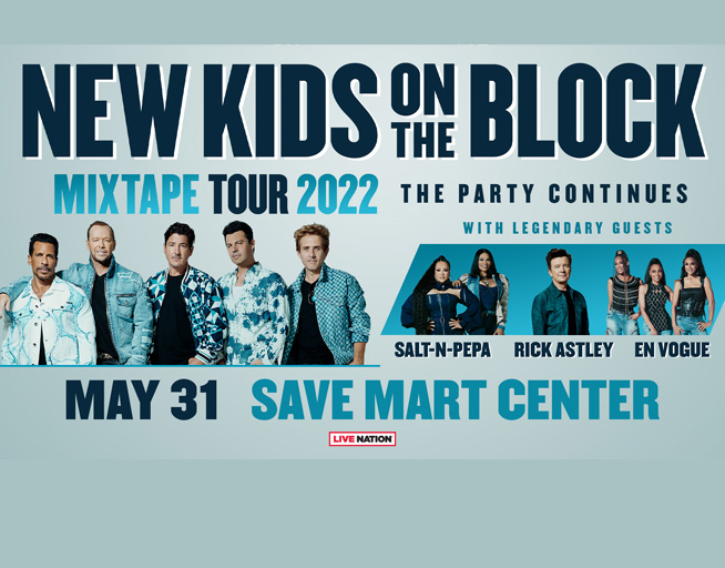 May 31:  New Kids on the Block